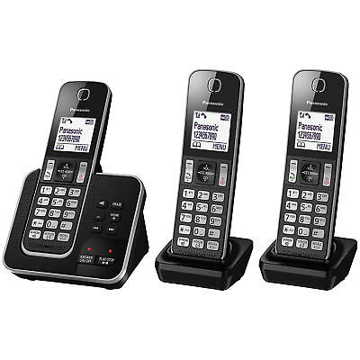 Brand New KXTGD323ALB Panasonic - Digital Cordless Phone & Answering System - KX