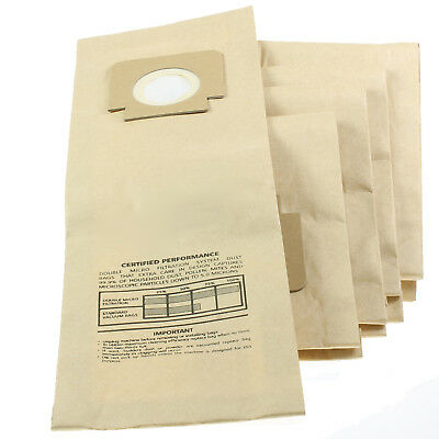 5 x H4 H18 Type Paper Dust Bags for BLOMBERG UPRIGHT BU11