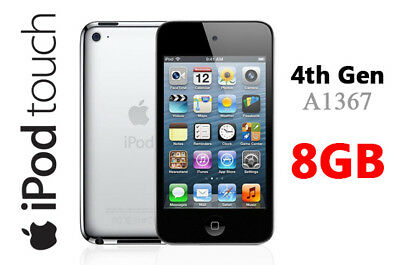 """Apple Ipod Touch 4th Generation  A1367 8GB 3.5"""" Screen WIFI"""