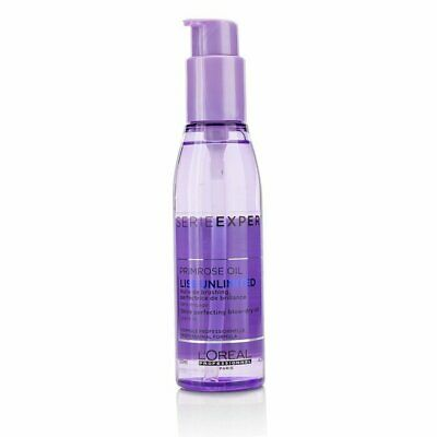 L'Oreal - Liss Unlimited Primrose Oil Shine Perfecting Blow-Dry Oil 125ml