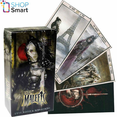 Malefic Time Tarot Cards Deck Royo Fantasy Fournier Telling Esoteric New