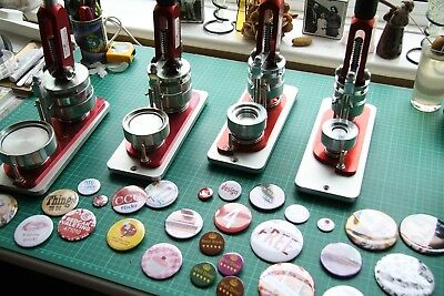 G Series Badge Machines Set of Four by BlankBadge