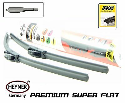 "Bmw 3 Series E90 E91 2009-2012 HEYNER flat windscreen wiper blades 24""19"" set"