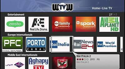 WOW TV ONLY FOR Android TV Box 400 Private Channel HD Live TV Best IPTV  Service