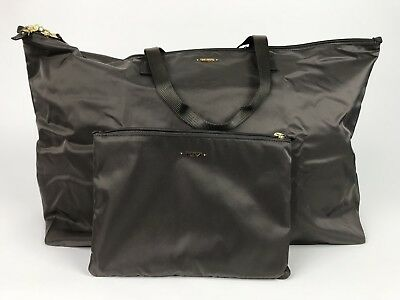 Tumi Just In Case Tote Travel Satchel Shopper Fold up Duffel Bag 0481849MNK $95