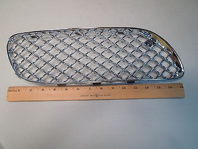 Bentley Continental 2004-2009 Gt Gtc Factory Oem Chrome Bumber Grill 3W8807682L