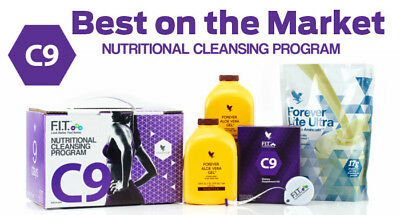 NEW Forever C9 Clean 9 Detox Weight Loss-VANILLA- THE BEST PLAN on the Market!