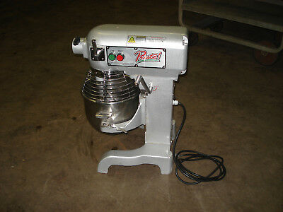PRESTO 10 Qt. Commercial Dough Mixer w/ Safety Cage  -  Model # PM-10
