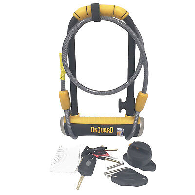 Magnum Onguard 8005 Shackle D U Lock Sold Secure GOLD Bicycle - NO PACKAGING