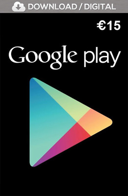 15 Euro € Google Play Store Guthaben | Playstore Android Key Code