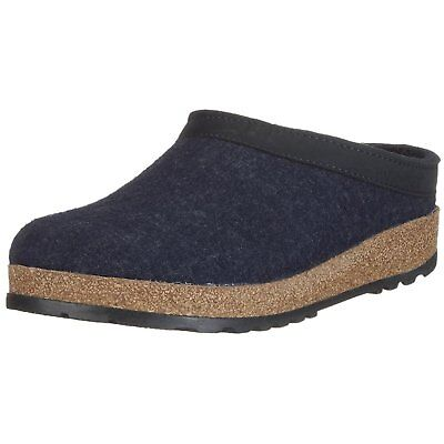 a958046d4ae HAFLINGER UNISEX GZL Leather Trim Grizzly Clog -  160.49