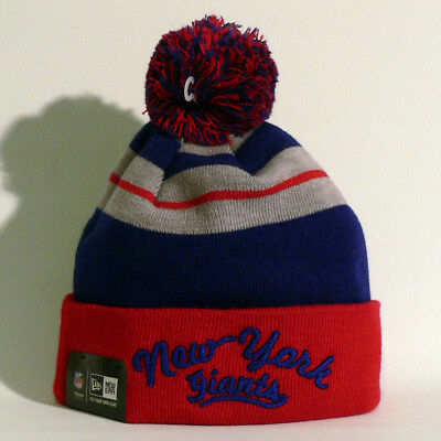 New York Giants Beanie / Wollmütze - New Era - Football - NFL - NY Giants - Neu