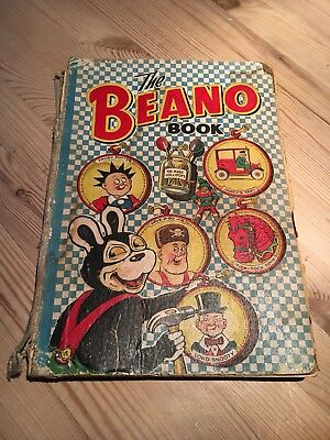 The Beano Book 1952 vintage comic annual