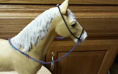 Johnny West Marx horse Two bridles USA MADE