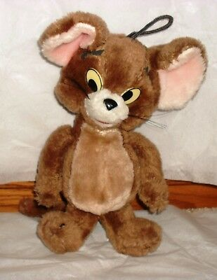 """Tom & Jerry Jerry The Mouse 14"""" Plush Toy Rare Vintage 1967 MGM Cartoon TV Show"""