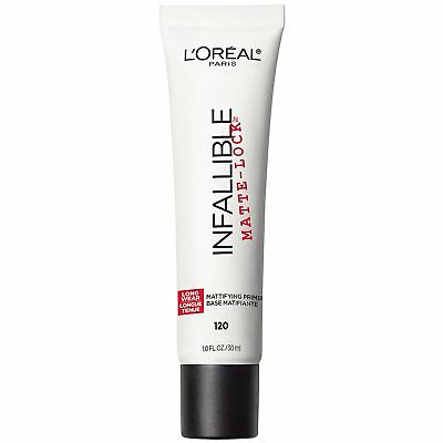 LOreal Paris Cosmetics Infallible Pro Matte Lock Primer, 1 Fluid Ounce