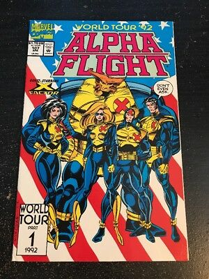 Alpha Flight#107 Incredible Condition 9.0(1992) X-factor App!!