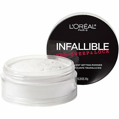 LOreal Paris Cosmetics Infallible Pro Sweep & Lock Loose Setting Powder, 0.28