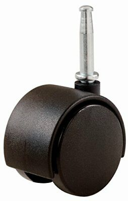 Shepherd Hardware 9418 2-Inch Office Chair Caster Twin Wheel 5/16-Inch Stem D...