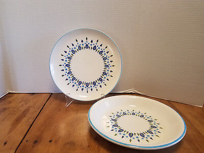 2 pcs Marcrest Swiss Alpine Pie dish & Dinner plate Imperfect