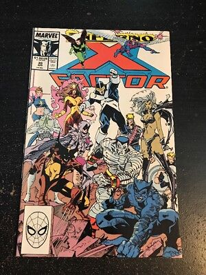 "X-factor#39 Incredible Condition 9.4(1989)""Inferno"" Simonson Art, Cool!!"