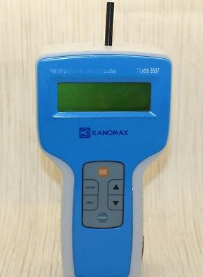 Kanomax 3887A 3-Channel Handheld Laser Particle Counter