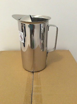 Brand New Stainless Steel Water Jug 2L