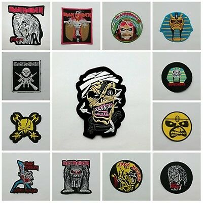 new Iron Maiden sew iron embroidered on patch heavy metal music rock band jacket