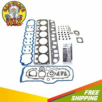 Full Gasket Set Fits 96-98 Jeep Grand Cherokee L6 OHV 12v 4.0L VIN S Cu. 242