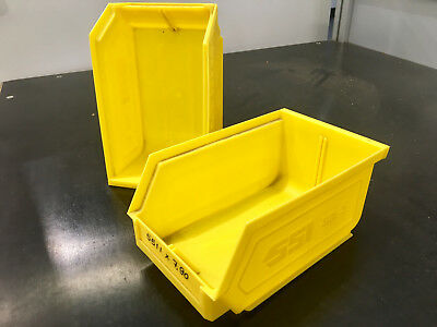 SSI SCHAEFER wall mounted / stackable storage containers 165x100x80 Workshop