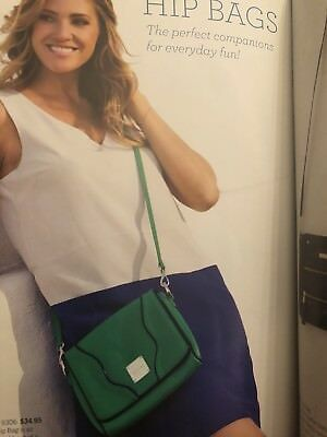 Authentic Miche~BRAND NEW~UNOPENED SEALED PACKAGE ~JUDE~Hipbag~Bright rich Green