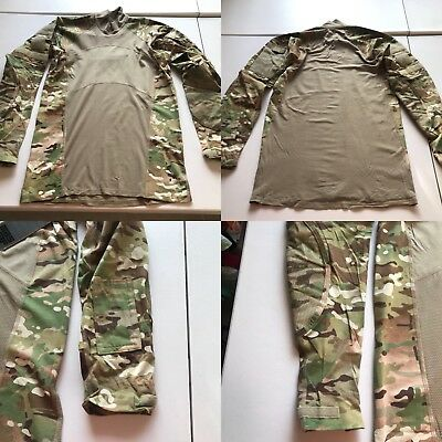 NEW US Military Issue Multicam Scorpion Camouflage MASSIF Combat Shirt M NWOT