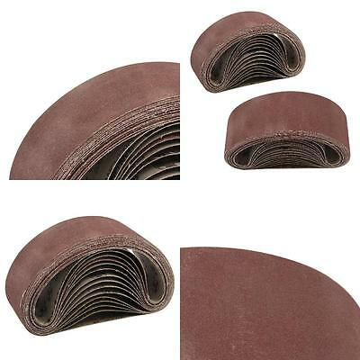 Design Sanding Belts 75Mm X 533Mm Mixed Grade 40 60 80 120 Grit Sander 75 533 3""