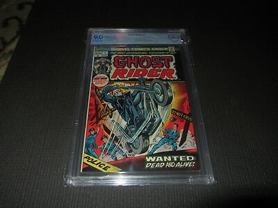 Ghost Rider 1 CBCS 9.0 VF/NM, 1st Son of Satan in Cameo (Marvel 1973)