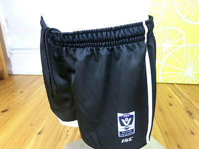 COLLINGWOOD MAGPIES   2017  VFL MATCH SHORTS PLAYER  PLAYERS  MENS SIZE large