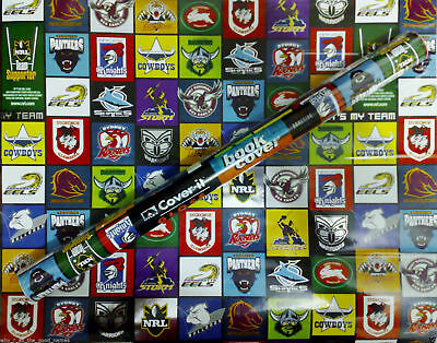 NRL Self Adhesive Book Covering - 2 Rolls