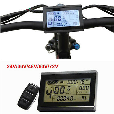 Lcd5 Control Panel Lcd Display Electric Bicycle Bike Parts For Kt Controller Atv,rv,boat & Other Vehicle Ebike 24v 36v 48v Intelligent Black Kt