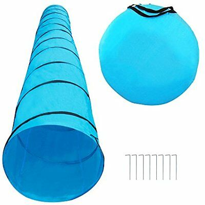 Dog Agility Tunnel Training Pet Equipment Obedience Kit Outdoor Open Exercise