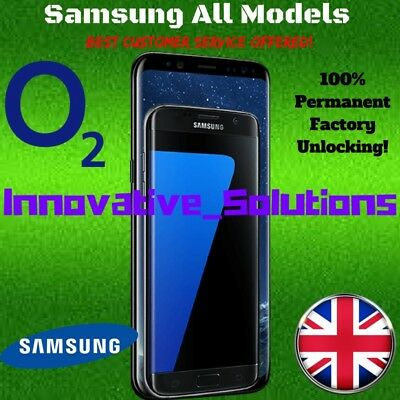 Samsung Galaxy S6 & S6 Edge Official Factory Unlocking Service Unlock code O2 UK