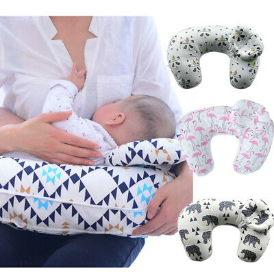 Newborn Infant Baby U-Shaped Breastfeeding Soft Pillow Nursing Maternity Support