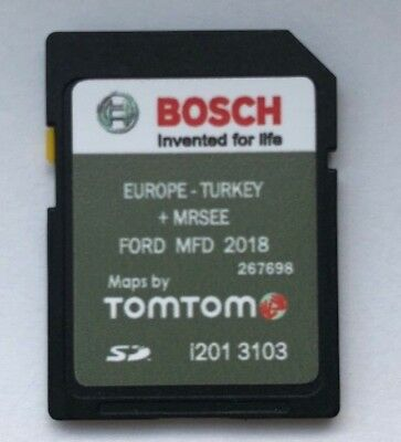 FORD MFD 2018 - 2019 NAVIGATION SYSTEM SD CARD EUROPE + TURKEY Latest new