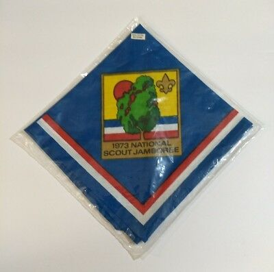 NOS 1973 National Scout Jamboree BSA Neckerchief Boy Scouts of America