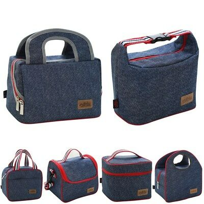 AU Waterproof Insulated Thermal Lunch Fruit Boxes Carry Tote Picnic Storage Bag