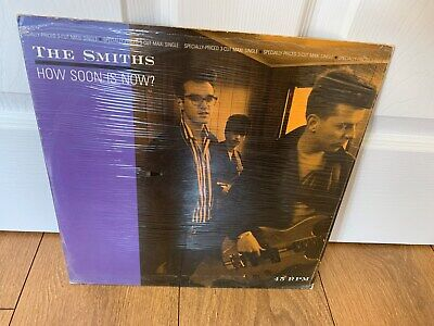 """The Smiths - How Soon Is Now 12"""" RARE US Import"""