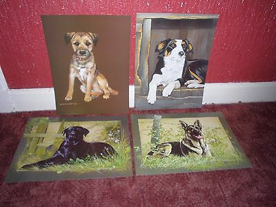 Rare Pollyanna Pickering Dog Prints