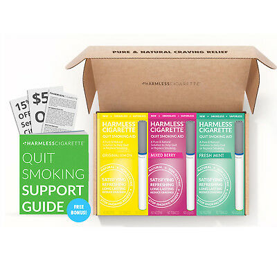 Naturally Effective Quit Kit / Stop Smoking Aid / Harmless Cigarette Reviews.
