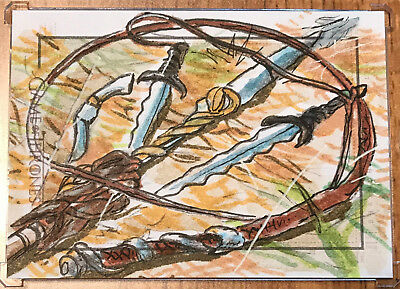 Game of Thrones Season 5 Five SKETCH CARD - Dan Gorman - Sketchafex