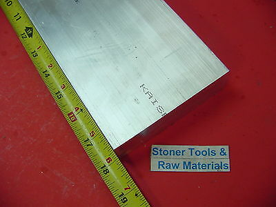"2 Pieces 1-1/2""x 4"" ALUMINUM 6061 FLAT BAR 18"" long T6511 Solid Plate Mill Stock"