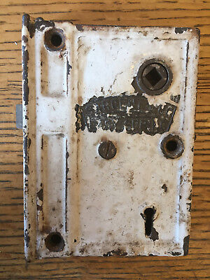 Antique Sargent & Co. Easy Spring box lock/rim lock