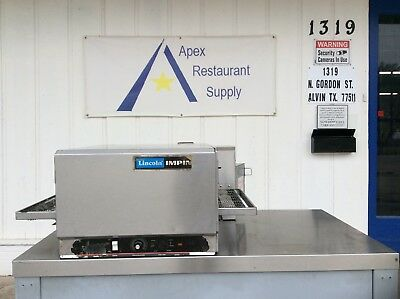 Lincoln Model 1301 Impinger Conveyor Countertop Pizza Oven #2883